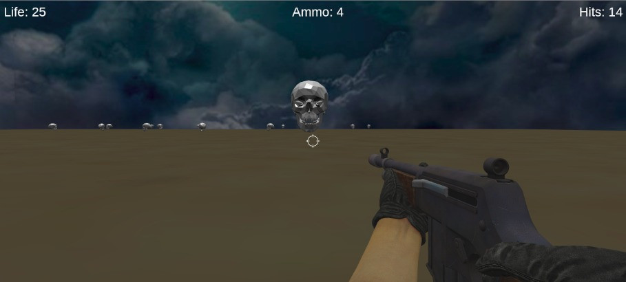 Simple 3D FPS Game